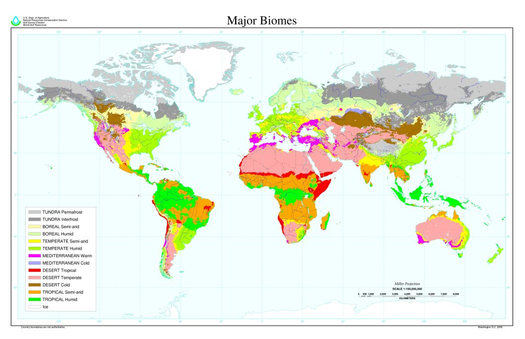Lesson 05 Biomes Of The World